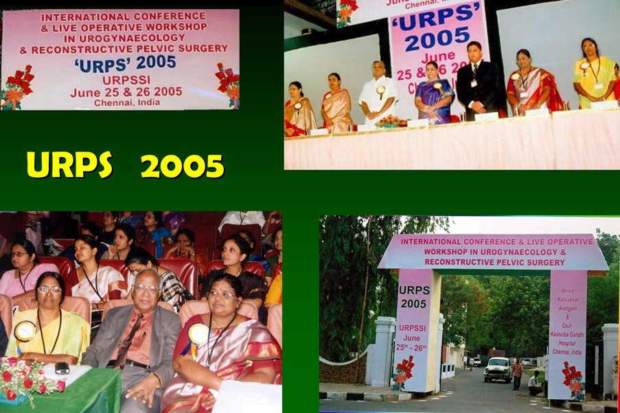 URPSSI - Urogynaecology